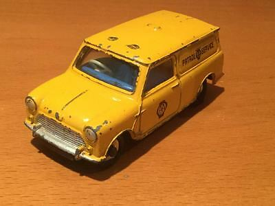 Dinky Toys 274 Mini Minor Van AA Patrol Service for spares/repair