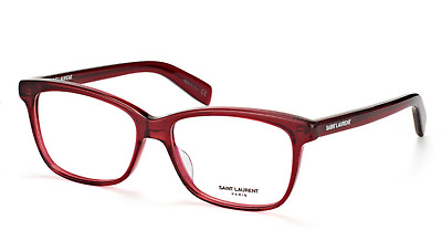 Saint Laurent  SL 170 003 Eyeglasses Burgundy Frame 54mm