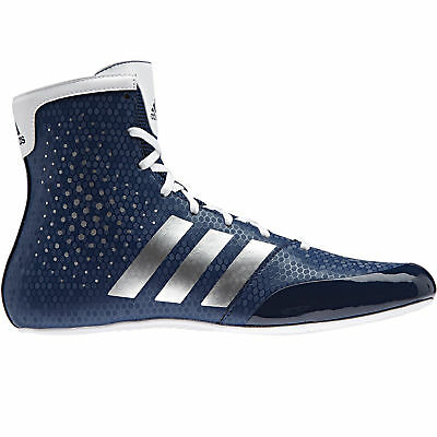 adidas KO Legend 16.2 Boxing Trainer Shoe Boot Blue/White