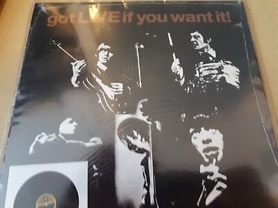 EP- The Rolling Stones-Got live if you want it!-USA-NEU