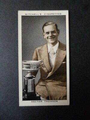 """Mitchell """"a Gallery Of 1935"""" Hector Thompson Scottish Golfer"""