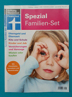 Stiftung Product Test Financial Special - Family Set März /2017 ungel. 1A