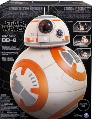Star Wars Hero Droid Life Size BB-8 Fully Interactive Droid New!