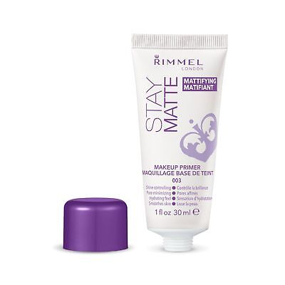 Rimmel Stay Matte Primer, 1 Fluid Ounce - NEW FREE SHIPPING