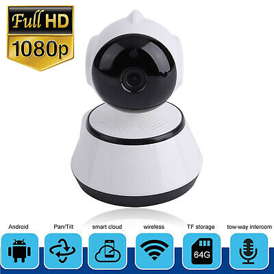 Tenvis HD 720P Wireless Wifi IP Camera CCTV Webcam Baby/Pet Monitor Pan Tilt