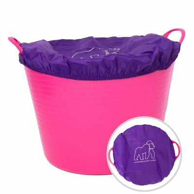 Red Gorilla Tubtrug Tub Bucket Cover Feed Water Tack Stable Horse Animal Food
