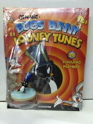 DeAgostini Looney Tunes 3D Figure Collection N. 26 PINGUINO PLAYBOY BLISTERATO