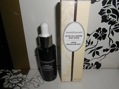 New Bare Minerals Active Cell Renewal Night Serum 30Ml