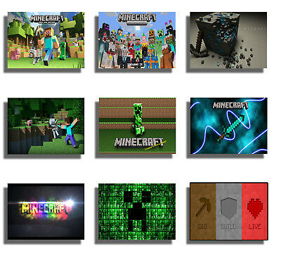Gaming Poster Print Wall Art A3 A2 Xbox PS4 Game Console Online Geek