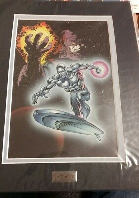 Marvel Limited Edition Laser Cel - Silver Surfer