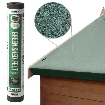 Shed Felt Heavy Duty IKO Green Mineral Roofing Trade Top Sheet 1 m x 1 m