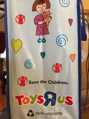 Toys R Us Save The Children Federation Reusable Shopping Bag ~ Tote ~ Free Ship