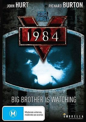 1984 (DVD) Big Brother Is Watching John Hurt Richard Burton [Region4] NEW/SEALED