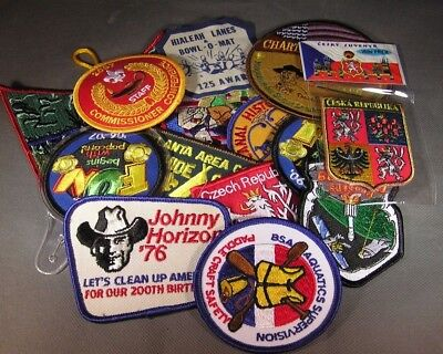 Boy Scouts of America mixed lot of  14 patches