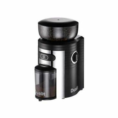 Dualit Electric Coffee Bean Grinder Spice Herb Mill Grinder 10 Grind Levels