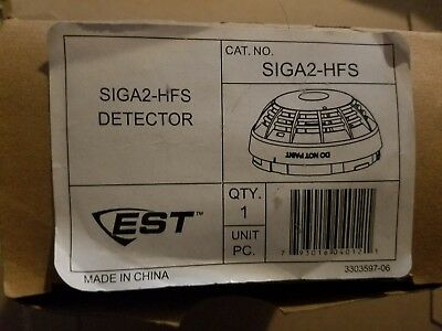 Edwards Siga2 HFS Detector