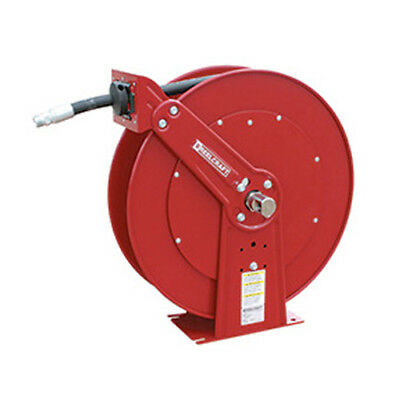 """Reelcraft PW81100-OHP 3/8"""" x 100' 4800PSI Pressure Wash Hose Reel with Hose"""