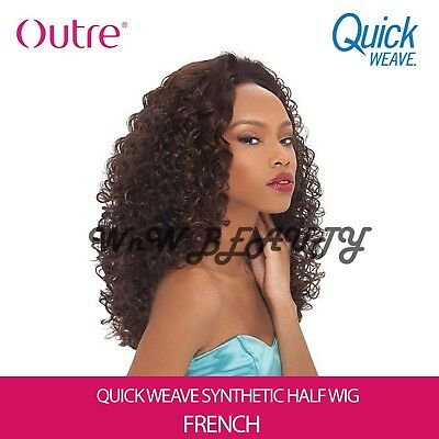 Outre Quick Weave Synthetic Half Wig - FRENCH