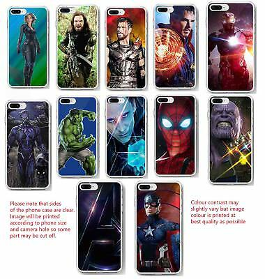 Infinity war avengers phone case thanos marvel clip on case iPhone Samsung HTC