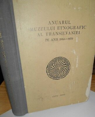 The Yearbook Ethnographic Museum Transylvania in years 1968-1970 (Romanian)