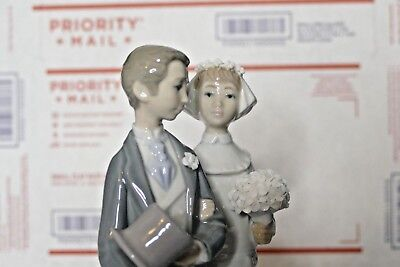 Lladro #4808 Wedding Bride & Groom