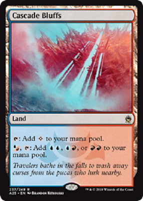MTG - Masters 25 (A25) Land Cards 236 to 249