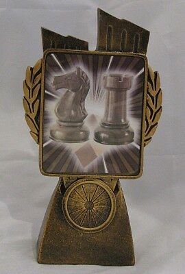 Chess Trophy 150mm  Engraved FREE