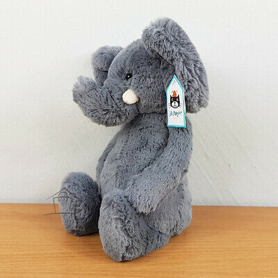 NEW Jellycat Bashful Elephant Medium 31cm Grey Plush Toy Animal Teddy Kids