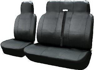 Ford Transit (MK6) - Heavy Duty Leather Look Van Seat Cover Protectors - 2+1