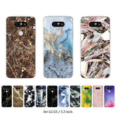 """5.3"""" Soft TPU Silicone Case For LG G5 Protective Phone Back Cover Skins Printed"""