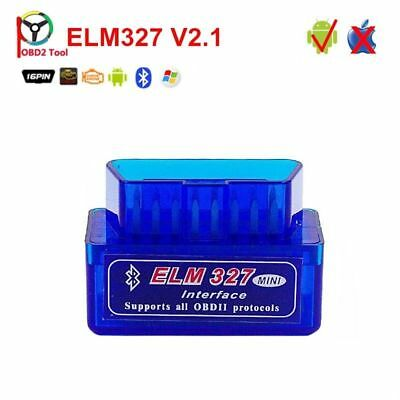 Bravr Bluetooth Car Auto Diagnostic Interface Scanner ELM327 V2.1 OBD2 CAN-BUS O