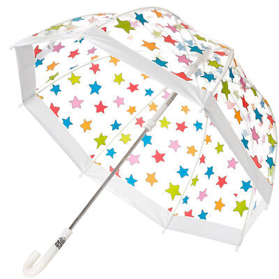 NEW Clifton Kids Birdcage Umbrella Multi Stars