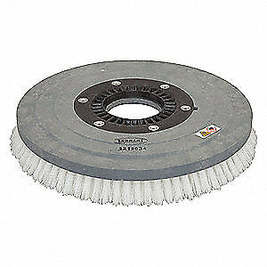 NOBLES Scrub Brush,17 in.,Nylon,0.028 in. dia., 1213034