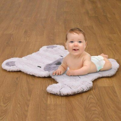 Play Day Pals Cream and Grey Tummy Time Play Mat by NoJo
