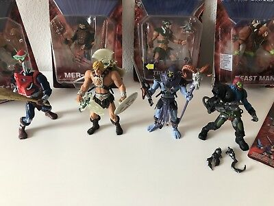 MOTU 200X MOTU 2002 Masters of the Universe He Man Skeletor