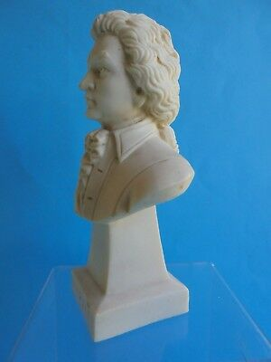 Antique Style Italian Marble Mozart Bust