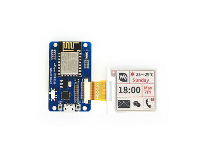 Waveshare e-Paper ESP8266 Driver Board with WiFi SoC ESP8266 onboard for e-Paper