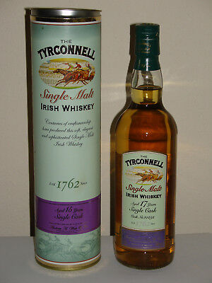 The Tyrconnell 17 Jahre, Single Cask, Single Malt Whiskey 46% 0,7 Liter