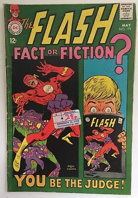 The Flash #179. May 1968. DC. 5.0