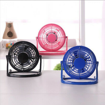 USB Fan Mini Portable Desktop Cooling Desk Quiet Fan For Computer Laptop PC MAC