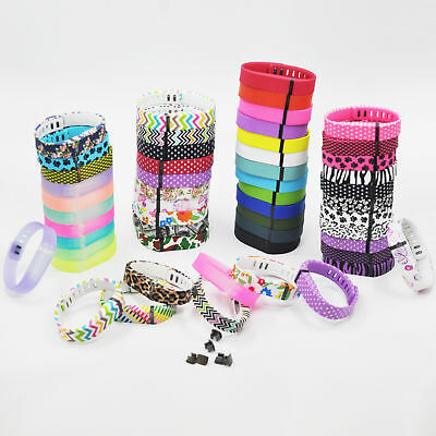 L/Small For Fitbit Flex 1 Wristband Bracelet Strap Replacement Band with Clasp