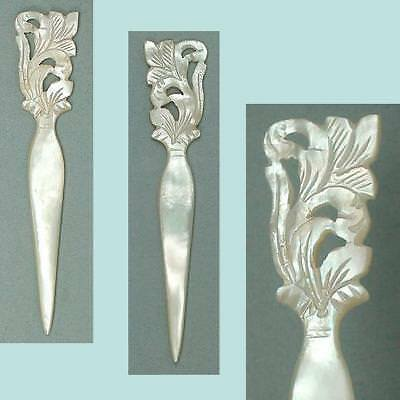 Antique Mother of Pearl Stiletto / Awl * French * Circa 1820