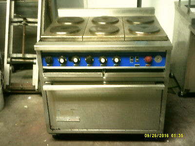 Hussman Toastmaster 6 Eye/oven Electric Range