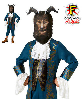 Beast Boys Costume Disney Beauty and the Beast Movie Child Fancy Dress Outfit