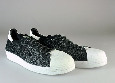 d9c06a2e4197 New Adidas Superstar 80S Primeknit Asg Glow In The Dark Mens Shoes Sz  10.s32029