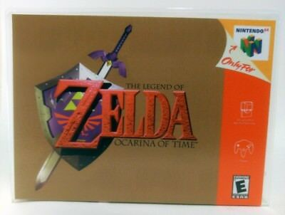 The Legend of Zelda Ocarina of Time - N64 - Nintendo Replacement CASE *NO GAME*