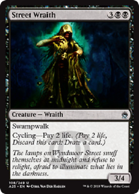MTG - Masters 25 (A25) Black Cards 079 to 119