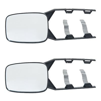 2 x TOWING MIRRORS CAR CARAVAN VAN LORRY WING MIRRORS EXTENSION MIRROR DRIVER