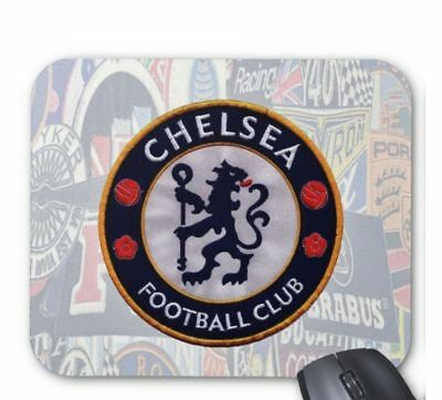 Chelsea Football Club Desktop Computer Mouse Mat Pad Rectangular 5mm Very Thick