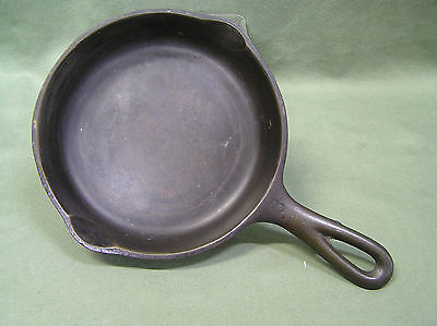 "Vintage Wagner Ware Cast Iron Skillet  Sidney -O- 1053 B  #3  6 1/2""  Cookware"